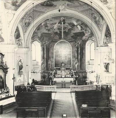 Mezőkövesdi Szent László templom freskójának fotódokumentációja (15.)