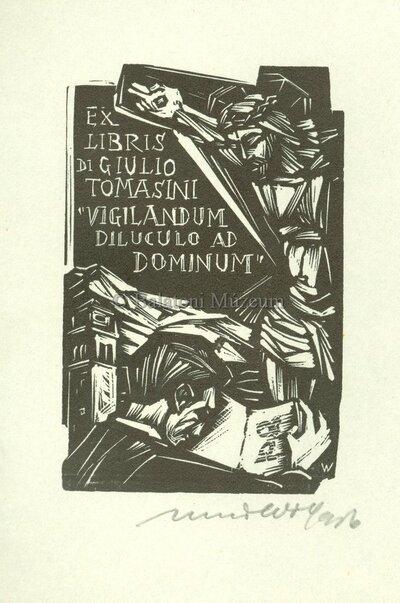 Ex libris di Giulio Tomasini