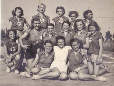 Martfűi röplabdás lányok