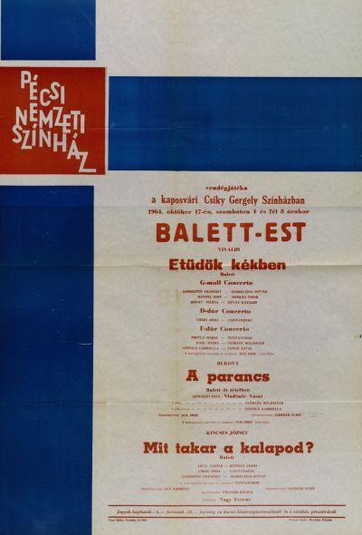 A Pécsi Nemzeti Színház Balett-estje a Csiky Gergely Színházban