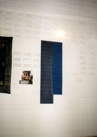 Kiállítás a Kékfestő Múzeum anyagából Tihanyban