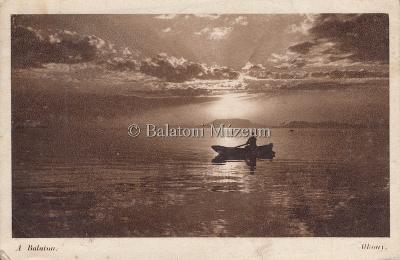 A Balaton. Alkony