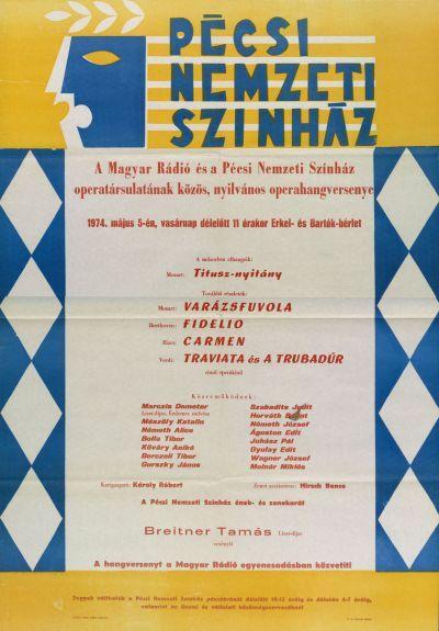 Operhangverseny bemutató plakát