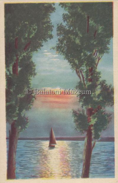 Balaton, Holdvilágos est