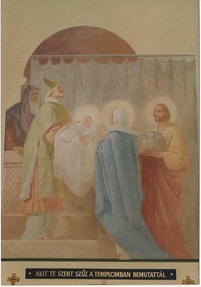 Bugac-Alsómonostori templom freskó fotódokumentáció 9