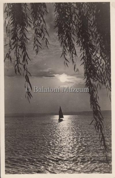 A Balaton, Esti hangulat