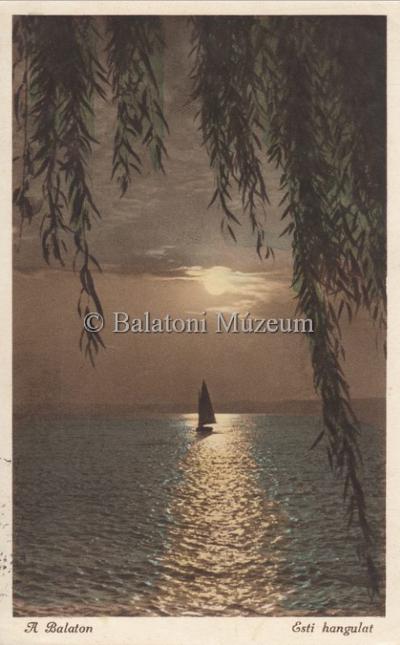 A Balaton, Esti hagulat