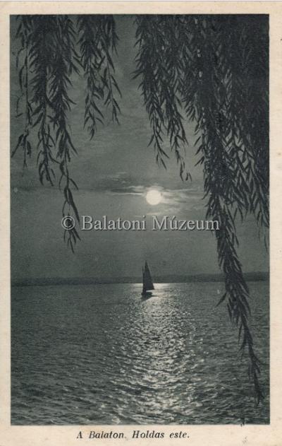 A Balaton, Holdas este