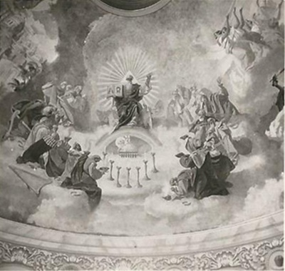 Egri Bazilika freskó fotódokumentáció 27