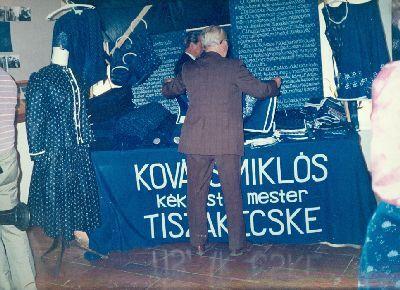 Kovács Miklós kékfestő mester, Tiszakécske