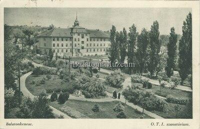 Balatonkenese, O.T.I. szanatórium
