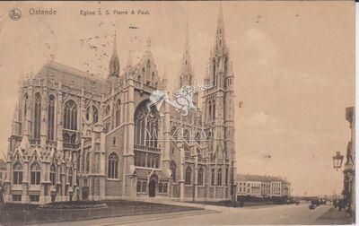 Képeslap - Ostende