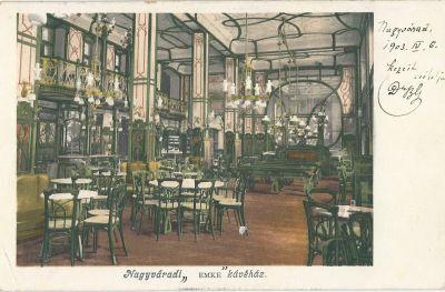 Emke kávéház, Nagyvárad, 1903