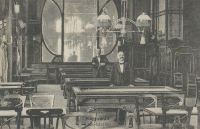 Emke Kávéház - képeslap, Nagyvárad, 1915