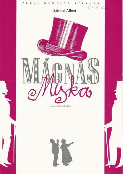 Mágnás Miska műsorfüzet