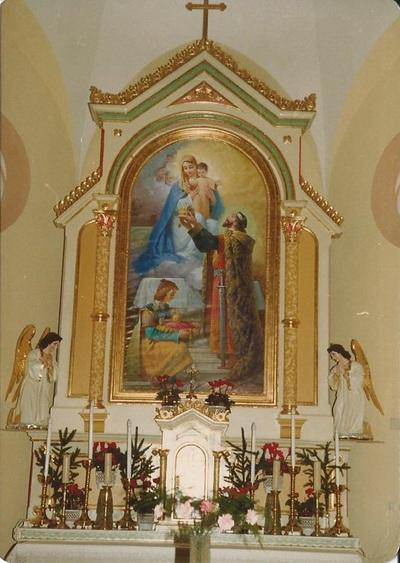 Szentkirályi templom freskójának fotódokumentációja 1