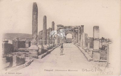 Képeslap-Timgad