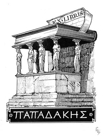 Ex libris Akropolisz