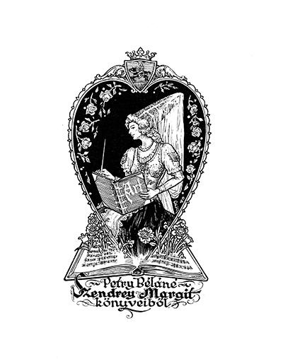 Ex libris Petry Béláné Szendrey Margit