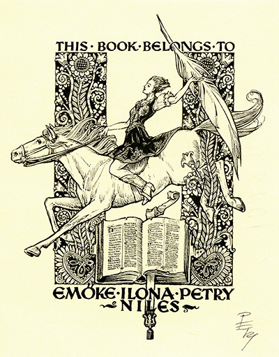 Ex libris Emőke Ilona Petry