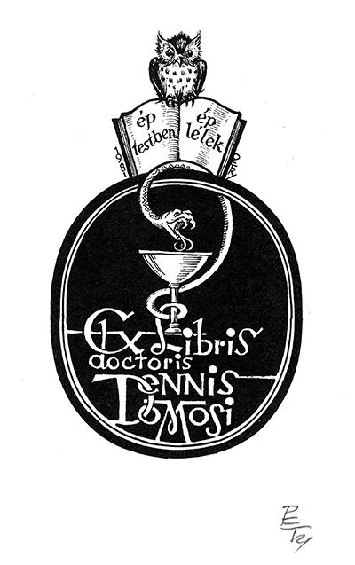 Ex libris dr. Dennis Domosi