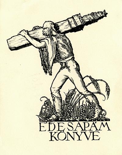 Ex libris Édesapám könyve