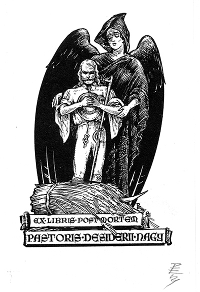 Ex libris Pastoris Desiderii Nagy
