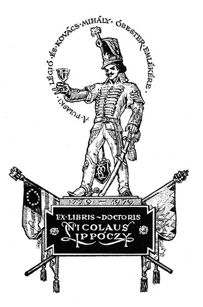 Ex libris Nicolaus Ippóczy