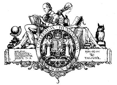 Ex libris Collegium Hungaricum