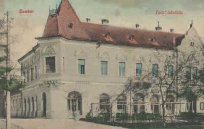 Korzó Kávéház, Zombor, 1908