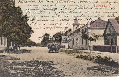 Balatonlelle, Utca részlet