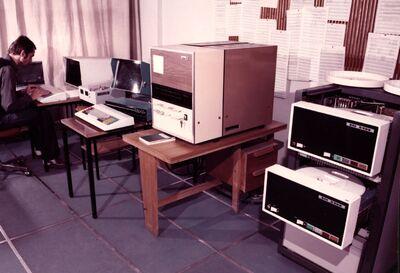 A Pécsiterv számítóközpontja