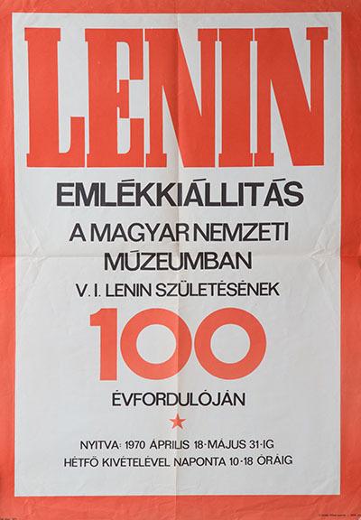 Lenin emlékkiállítás