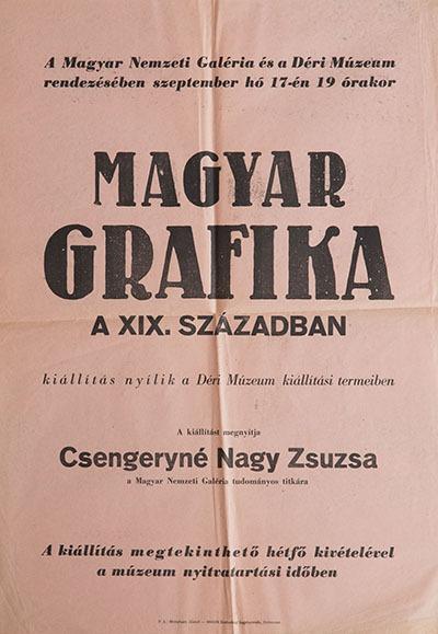 Magyar Grafika a XIX. században