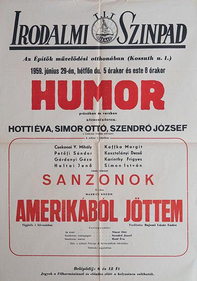 Humor prózában és versben