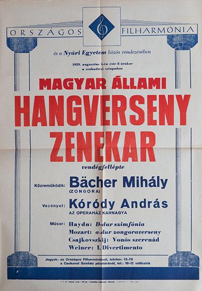 A Magyar Állami Hangverseny Zenekar