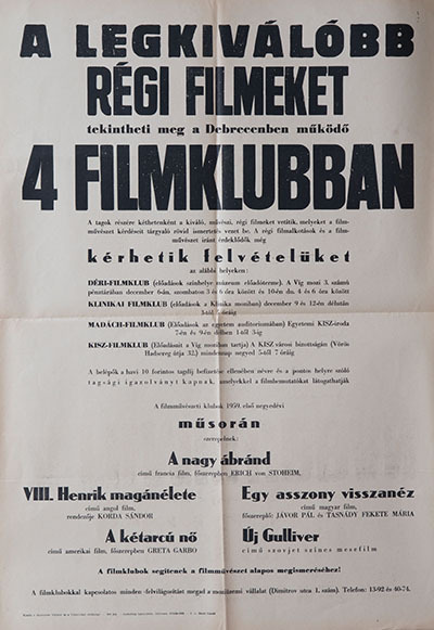 A legkiválóbb régi filmek