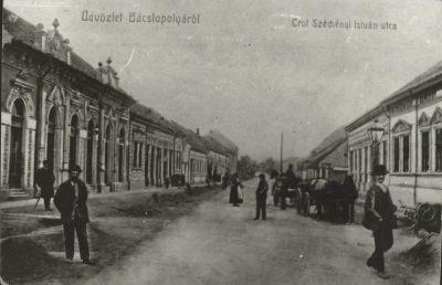 Központi Szálloda, Bácstopolya, 1909