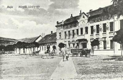 Otthon Szálloda és vendéglő, Baja, 1920-as évek