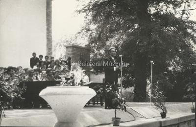 1963-as Helikoni ünnepségek megnyitója a szabadtéri színpadon