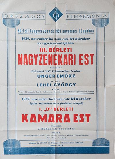 III. Bérleti Nagyzenekari est