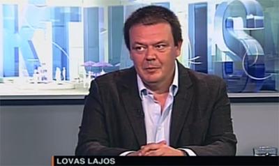 Tévéinterjú Lovas Lajos főigazgatóval