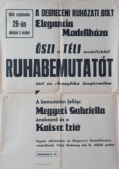 Debreceni Ruhabemutató