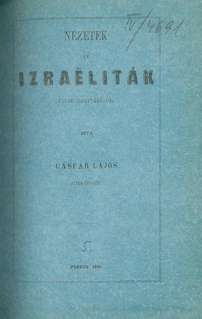 Nézetek az izraëliták felszabaditásáról