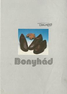 Bonyhádi cipőgyár cipőkatalógusa
