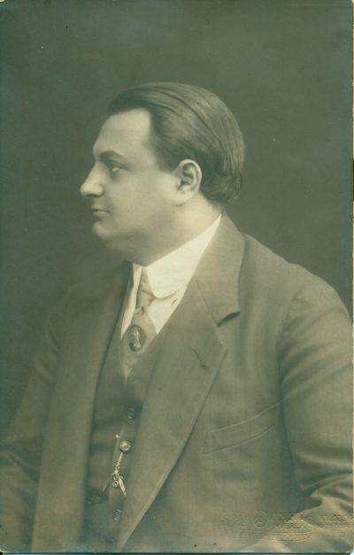 Gárdonyi Sándor szállodaigazgató, Kolozsvár, 1914