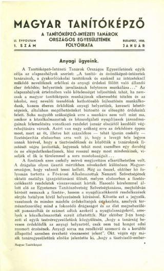 Magyar Tanítóképző