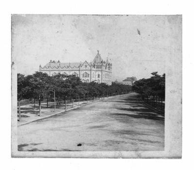 Földtani Intézet épülete és a Stefánia út