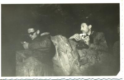 Életképek a barlangkutató táborokról