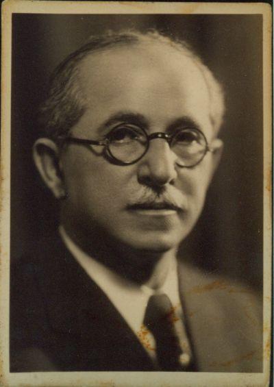 Gellér Mihály szállodaigazgató portréja, Budapest, 1937